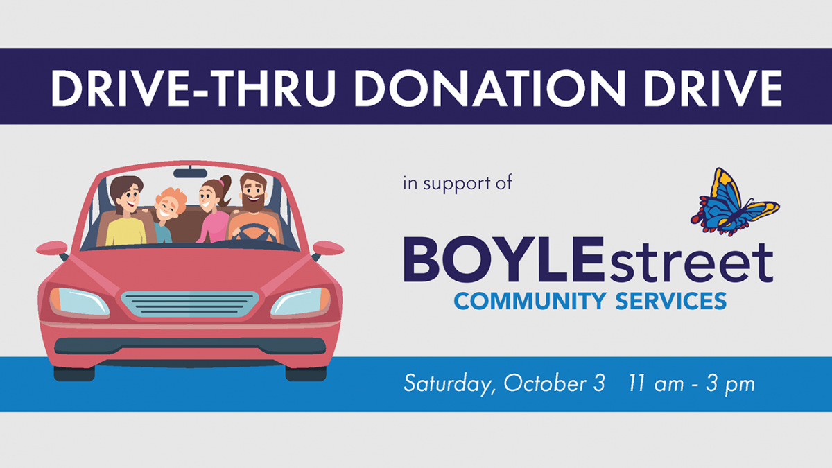 Drive-Thru Donation Drive